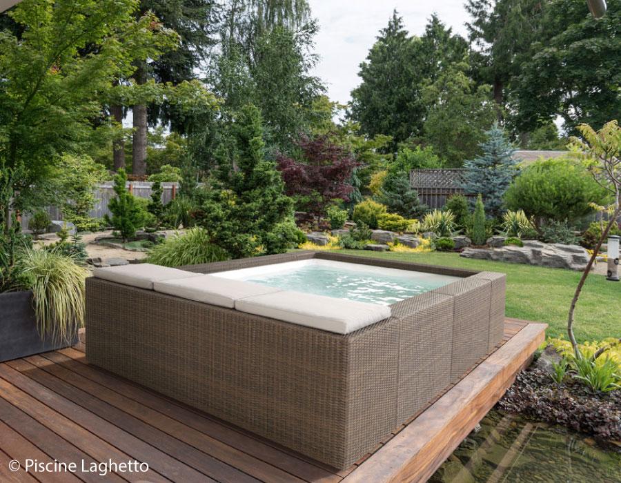 Realizzazione piscine residenziali milano varese novara - Piscina laghetto playa prezzo ...