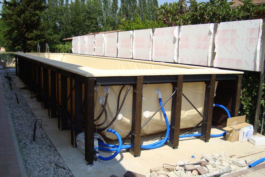 Realizzazione piscine residenziali mondo acqua srl buscate - Piscine fuori terra rivestite ...
