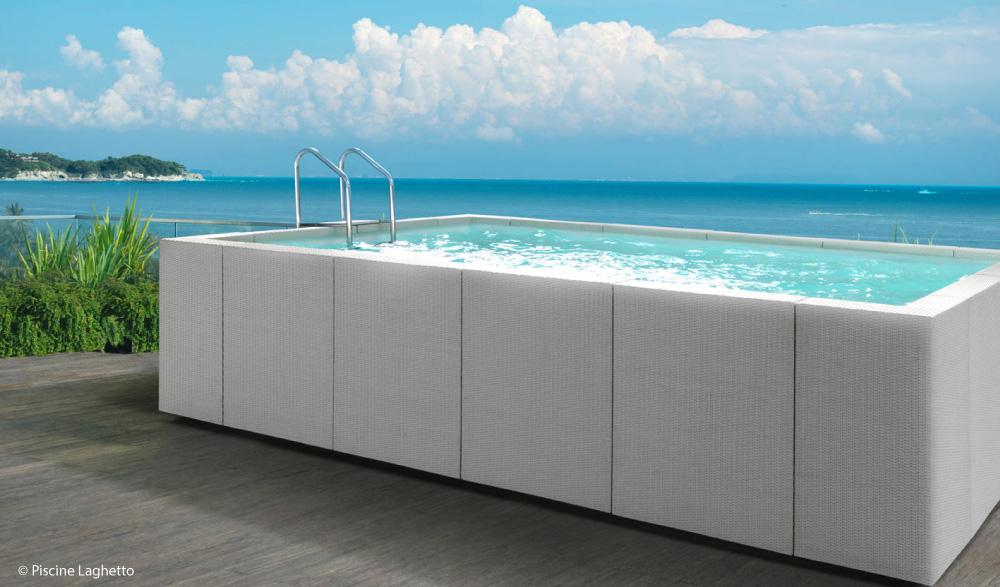 Realizzazione piscine fuori terra mondo acqua buscate milano for Teli copripiscina fuori terra