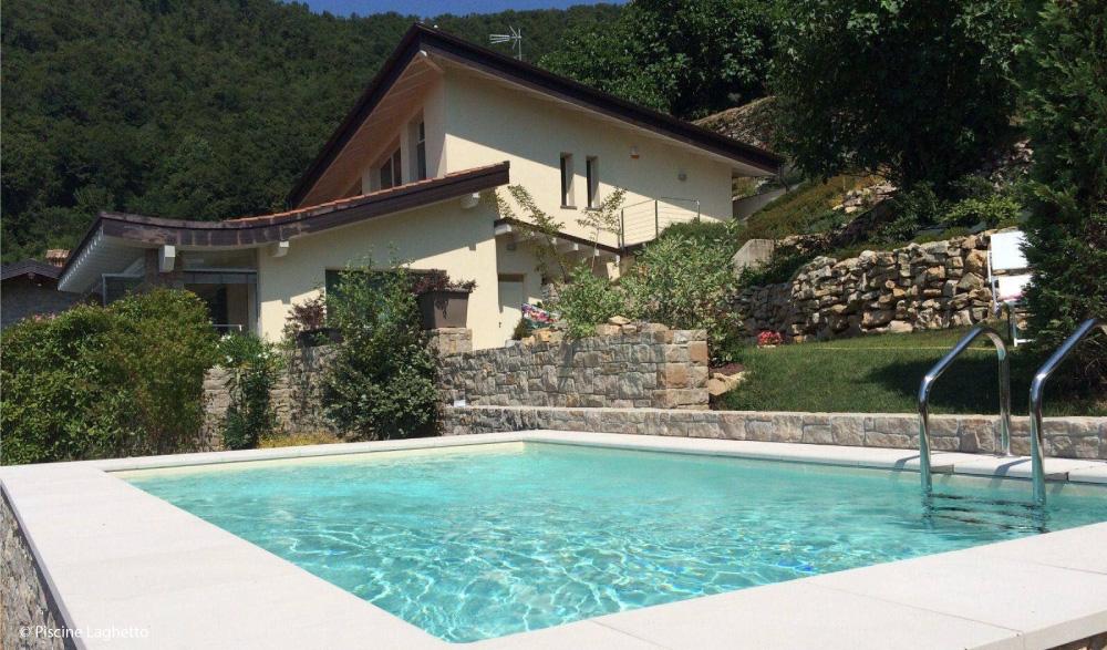 Realizzazione piscine fuori terra mondo acqua buscate milano - Piscina di legnano ...