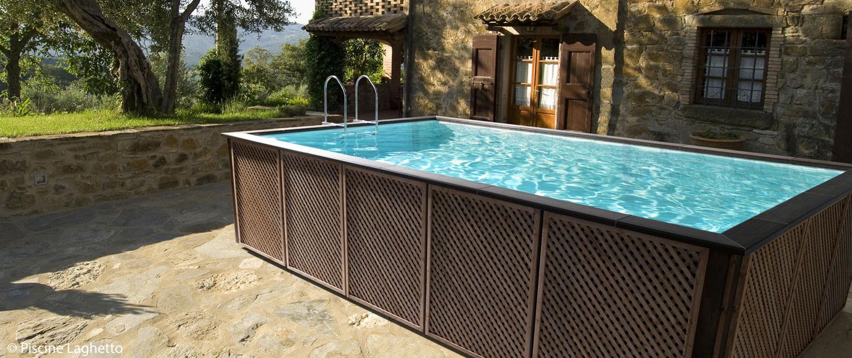 Realizzazione piscine fuori terra mondo acqua buscate milano for Luci per piscina fuori terra