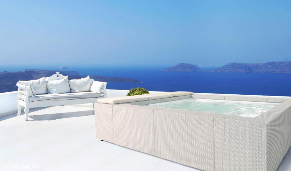 Vendita mini piscine vasche spa idromassaggio mondo acqua - Piscine laghetto playa ...